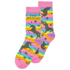 Stay Magical unicorn socks