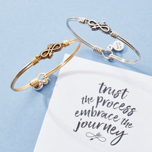 Load image into Gallery viewer, Embrace the Journey Bangle Bracelet