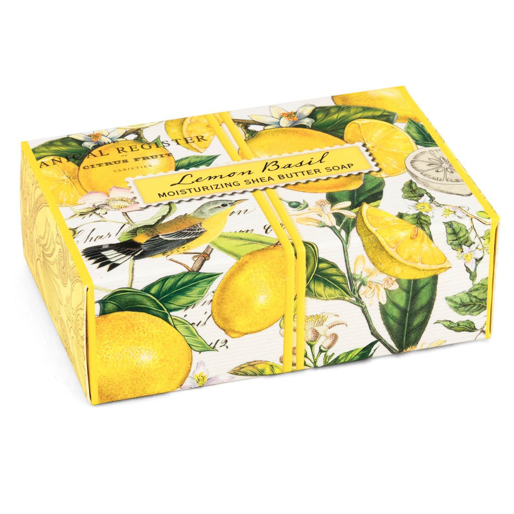 Lemon Basil Boxed Single Soap