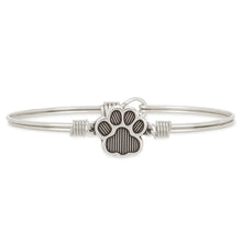 Load image into Gallery viewer, Pawprint Bangle Bracelet