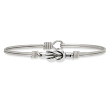 Load image into Gallery viewer, Love Knot Bangle Bracelet