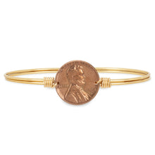 Load image into Gallery viewer, Heavenly Pennies Bangle Bracelet