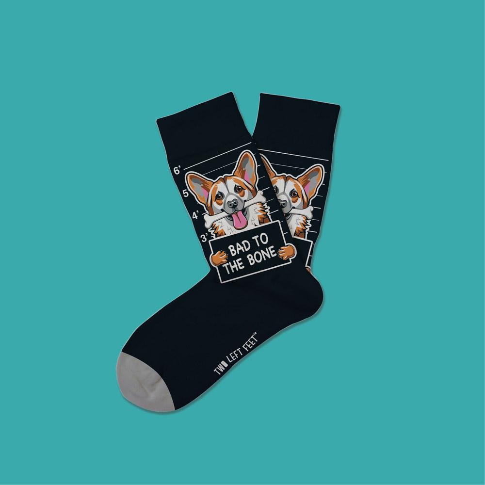 Bad to the Bone Socks - Kids