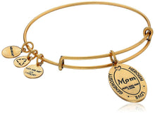 Load image into Gallery viewer, Alex and Ani Because I love you, Mom II Expandable Rafaelian Bracelet