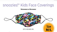 Load image into Gallery viewer, Snoozies Kids Masks / Face Covering children's mask