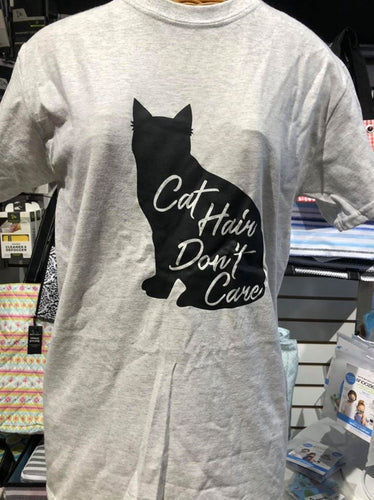 Cat Hair Don't Care Tee Shirt
