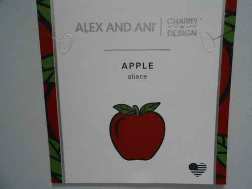 Alex and Ani Apple Bracelet - Teacher