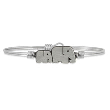 Load image into Gallery viewer, Mama Elephant Bangle Bracelet