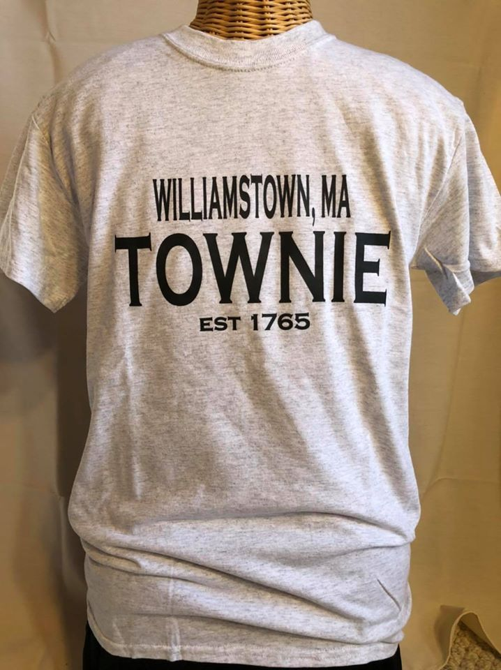 Williamstown Townie Tee Shirt short sleeve grey