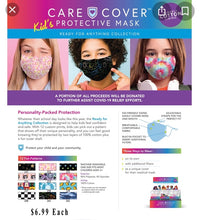 Load image into Gallery viewer, Kids Care Cover protective Mask regular and Holiday