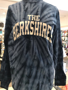 Tie dye long sleeve The Berkshires tee