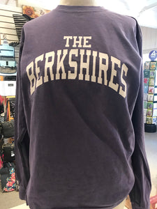 Purple long sleeve The Berkshires tee