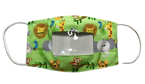 Children's Smile Mask in prints