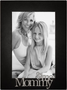 Mommy & Me Black 4 x 6 Frame