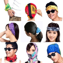 Load image into Gallery viewer, Multibandana Headband / Facemask