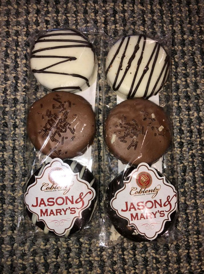 3 pack Chocolate Covered Chocolate with Creme Filled Cookies