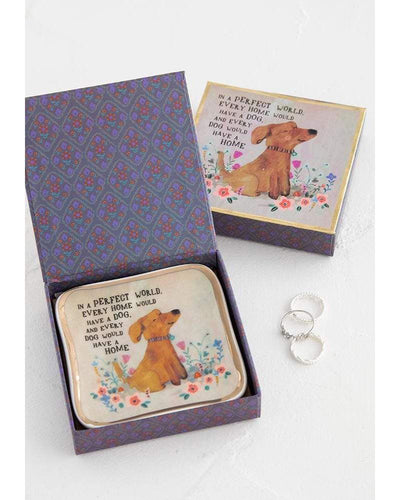Perfect World Dog Trinket Dish