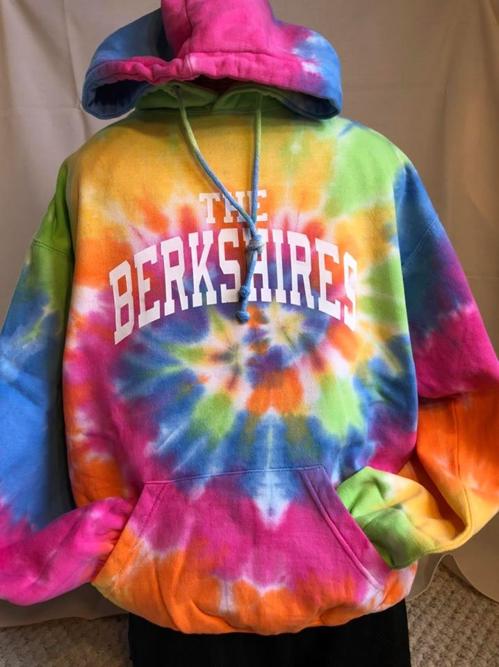 The Berkshires Eternity Swirl Tie Dye Hoodie