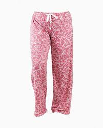 Rose Pattern Lounge Pants