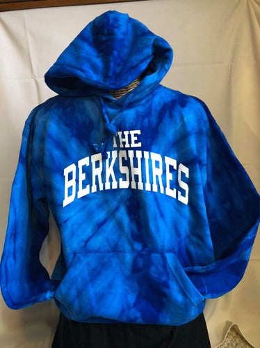 Royal Swirl Tie Dye The Berkshires Hoodie