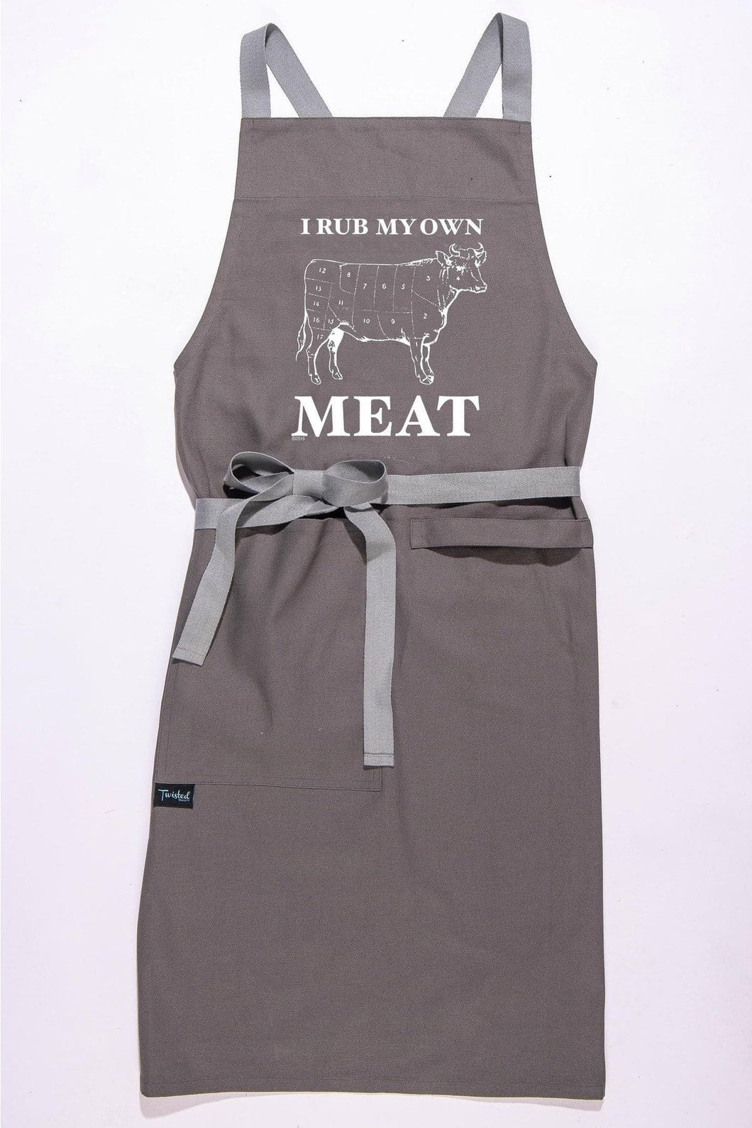 I Rub My Own Meat Apron