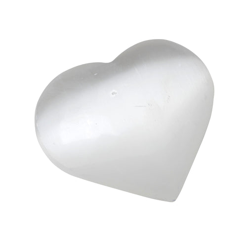 Selenite Heart 1.75