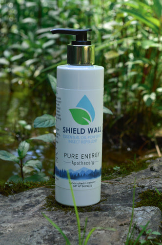 Shield wall all natural bug repellant