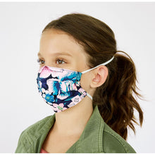 Load image into Gallery viewer, Vera Bradley Youth Pleated Mask with Adjustable Elastic children's mask