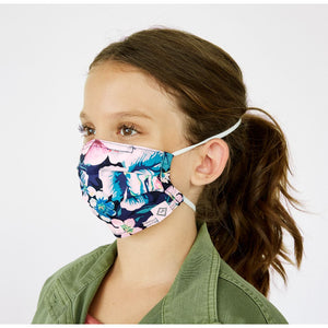 Vera Bradley Youth Pleated Mask with Adjustable Elastic children's mask