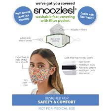 Snoozie Face Mask with filter