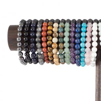 8mm Energy Stones Elastic Band Bracelet
