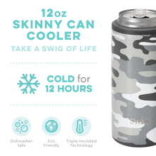 Load image into Gallery viewer, Incognito Camo Skinny Can Cooler (12oz)