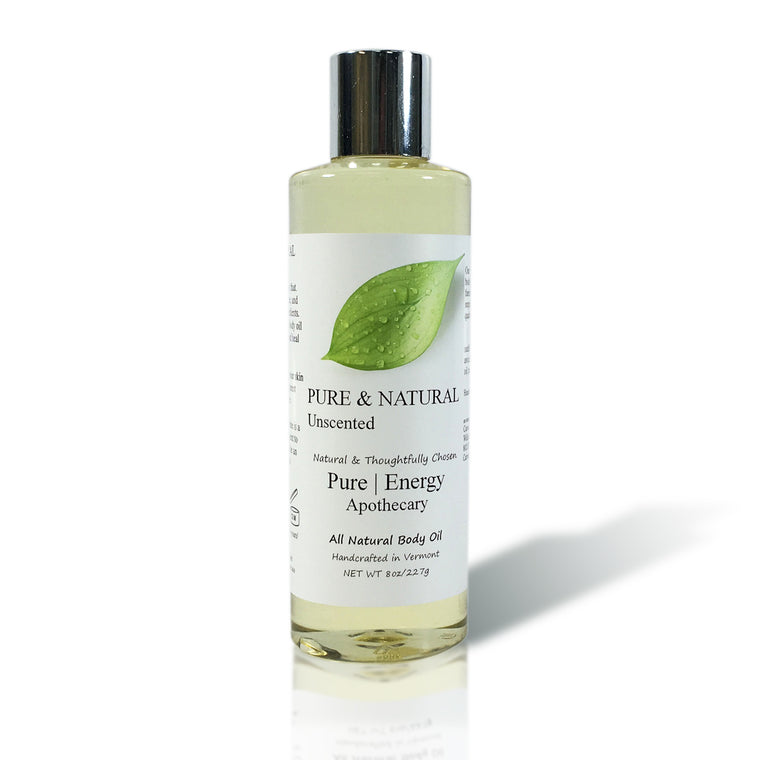 Body Oil (Pure & Natural, Unscented)