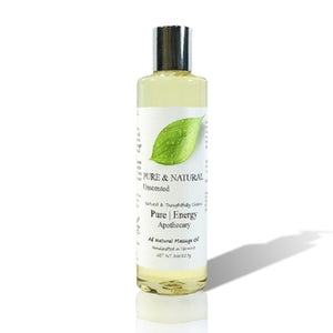 Massage Oil (Pure & Natural, Unscented)