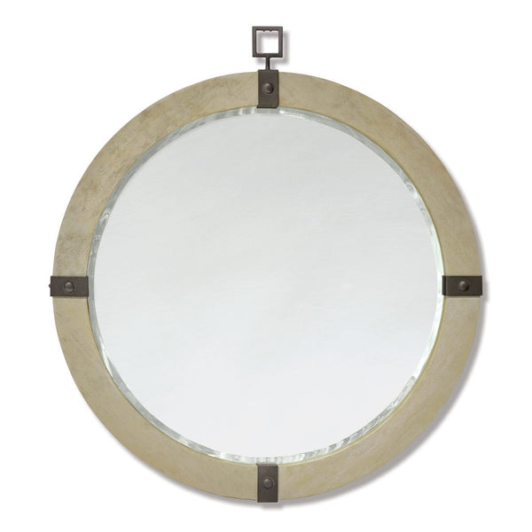 Brockton Round Mirror