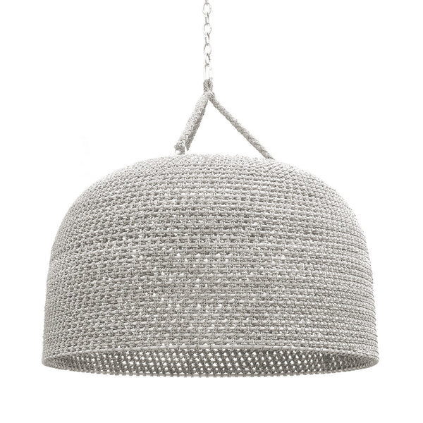Green Oaks Oversized Pendant White Sand