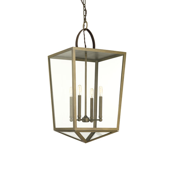 Shearwater Collection Large Pendant Aged Brass