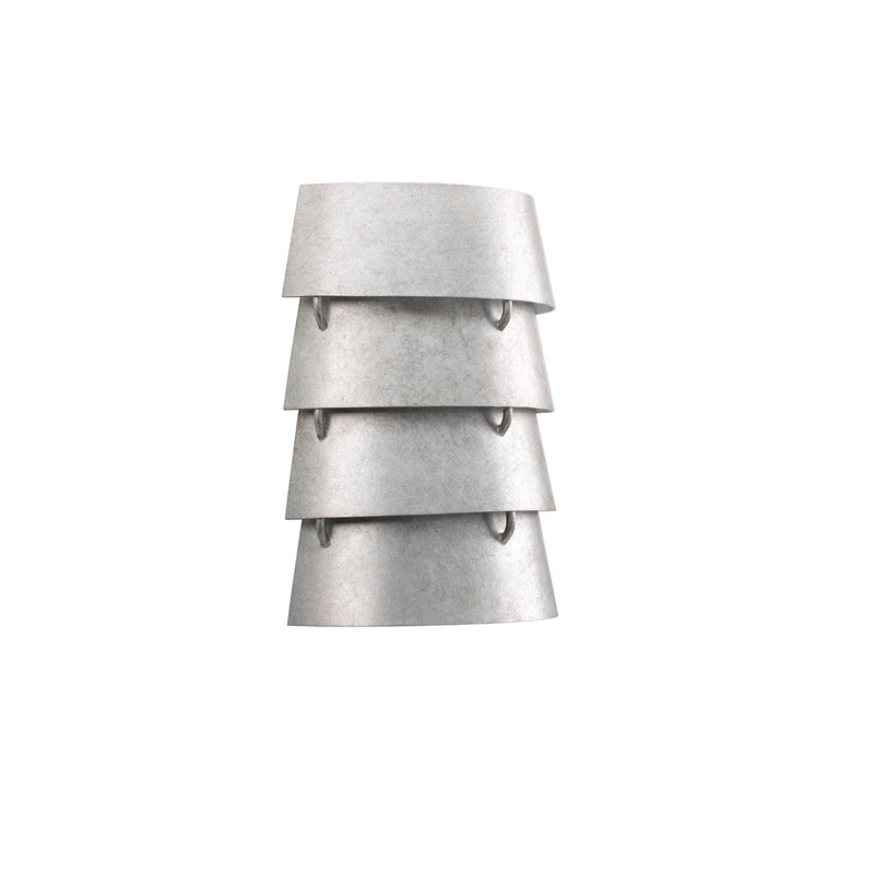 Surfrider Collection Wall Sconce Gray