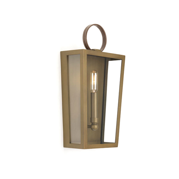 Shearwater Collection Wall Sconce Aged Brass