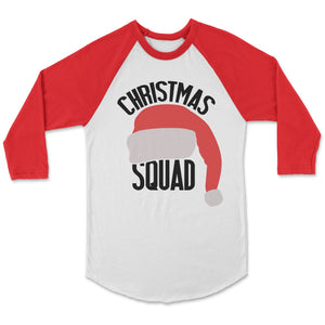 Christmas Squad Birthday T-Shirt Adult XS / White/Red