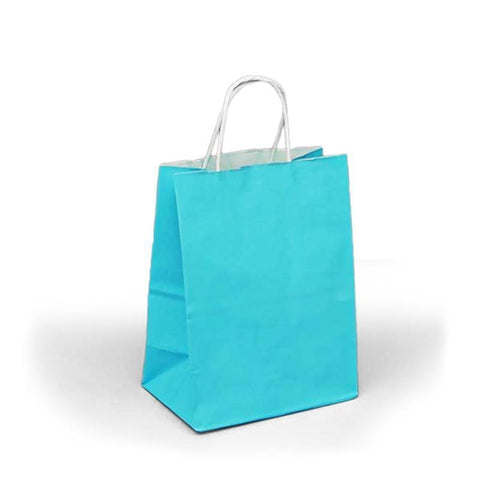 Colored Gift Bag Birthday T-Shirt Caribbean Blue