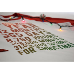Ive Been Waiting For Christmas Countdown Birthday T-Shirt