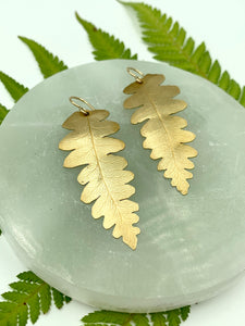 Large Brass Fern 3