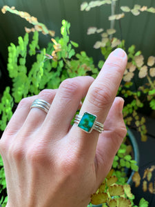 Sonoran Gold Rectangle Ring