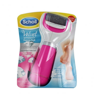 Expand SCHOLL - VELVET SMOOTH EXPRESS PEDI - RÂPE ÉLECTRIQUE EXTRA EXFOLIANTE ROSE