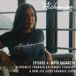 Alchemize Founder, Maya Nazareth, on Female Ferocity & Starting Alchemize Fightwear