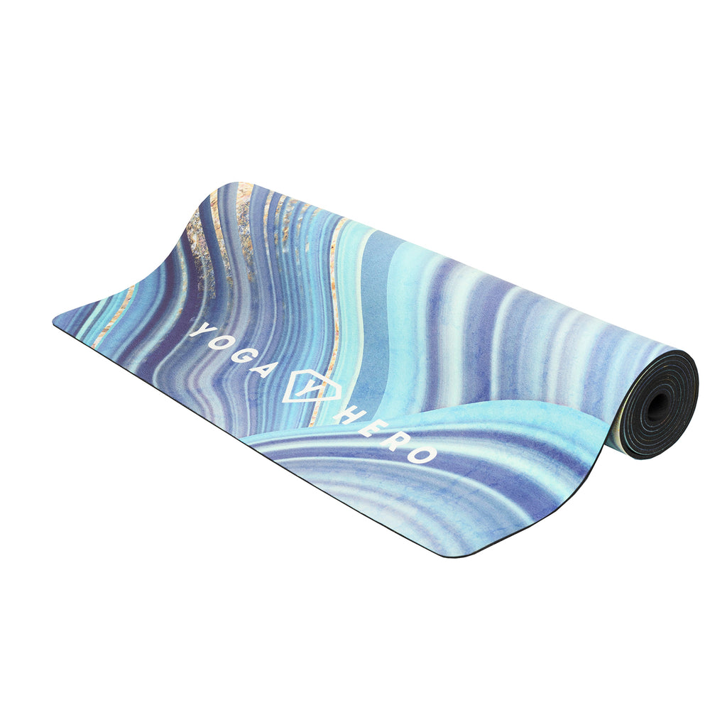 YOGA MAT BLUE STONE 3.5mm