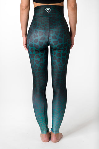 PRE-SALE: Leggings Green Leopard