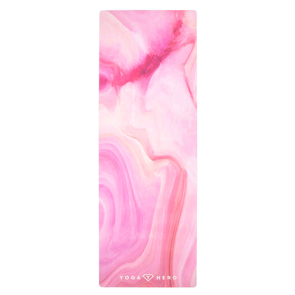 TRAVEL MAT PINK MARBLE 1mm | REISEMATTE PINK MARBLE 1mm