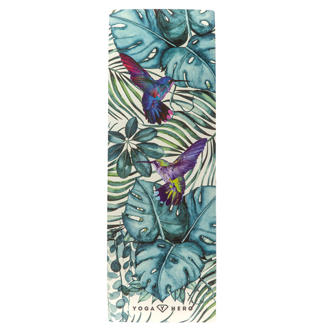 Tapis de yoga de voyage Jungle 1mm